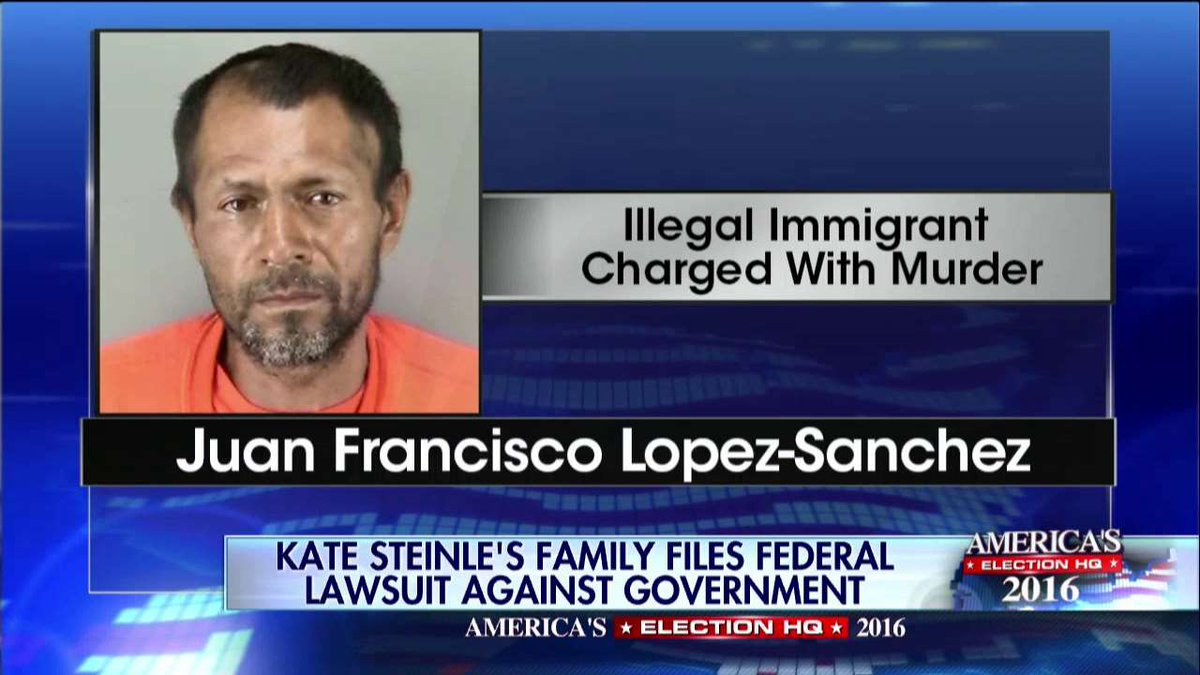 Kate Steinle's family files federal lawsuit against government.