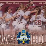 A double play ends it! The Noles are heading back to OKC! FSU beats Utah, 3-0!! #RKD https://t.co/1JPeJ4oVCy