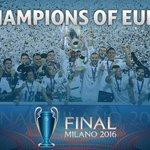 🎉 🏆CHAMPIONS OF EUROPE! 🏆 🎉 Congratulations @realmadrid! #UCLfinal https://t.co/XkjKSjpPer
