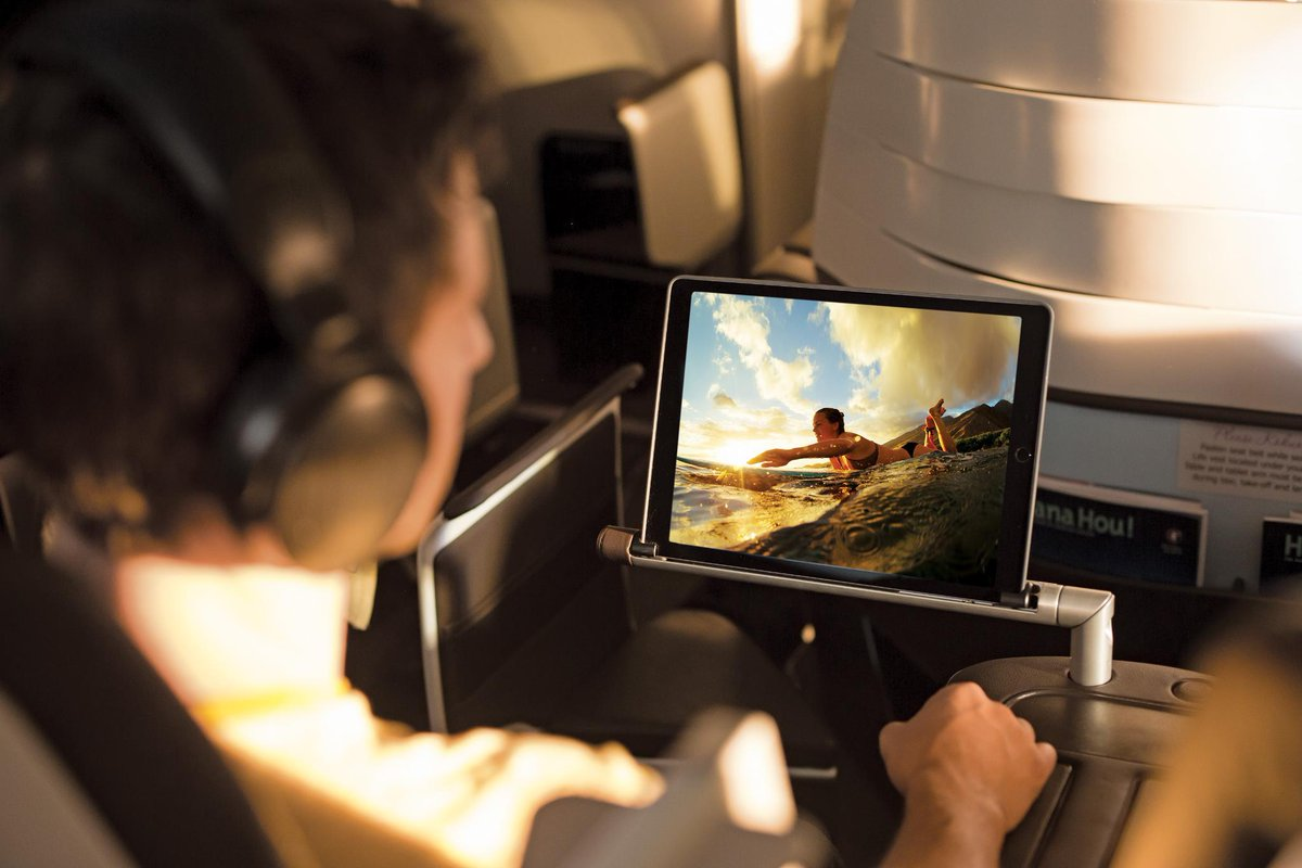 Our new Premium Cabin features advanced in-flight entertainment