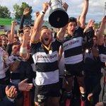 """.@alberbustos: """"Enhorabuena a @Chami_Rugby campeón de una #LigaRugby, muy disputada ante gran rival, el @VRACQuesos"""" https://t.co/aLjCw1CkJ4"""