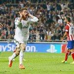 Sergio Ramos repete 2014 e marca contra o Atlético de Madrid na final. São 58 gols em 478 jogos pelo Real. https://t.co/byQwXGBUkI