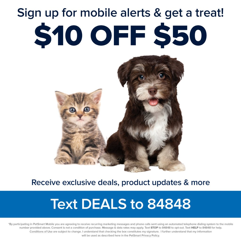 Get ready to save! text deals to 84848 to sign up for exclusive ...