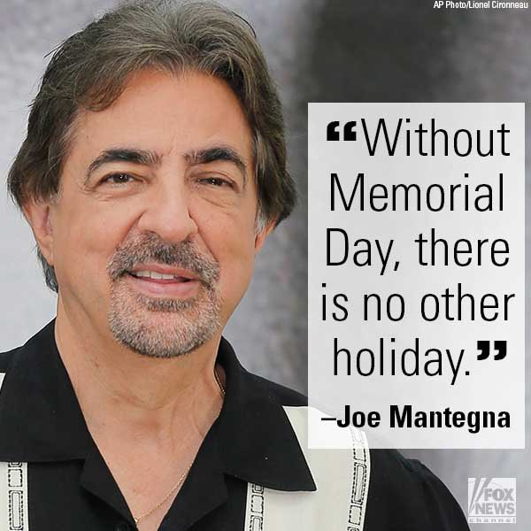 .@JoeMantegna, co-host of the 2016 National Memorial Day Concert, shares his thoughts about the holiday.