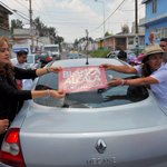 Visita casa x casa en la colonia Pino Suárez, #Puebla en apoyo a @SoyBlancaAlcala @AnaLiliaHerrera @MTPueblaOficial https://t.co/S0hO7T36tR