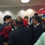@JustinTrudeau join militants @ Trudeau Lounge #wpg2016 #LPC16 https://t.co/iiQZrwcx5E