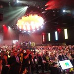 """""""Having great time"""" after a great inspiring speech by @JustinTrudeau for better #Canada #realchange #1party #wpg2016 https://t.co/QRqCAz5CSu"""