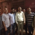 Visited Urdu Bazaar road carpeting in PS112 NA250 Met locals & PTI workers overseeing the project at 12 midnight https://t.co/ndkNf9efce