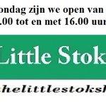 Morgen zijn we weer open van 11.00 tot en met 16.00 #Leiden The Little Stokshop #merenwijk https://t.co/pxFta78qyA