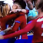 Carrasco scores in the #UCLfinal and goes and kisses his girl as a celebration? He wins in life. https://t.co/gM5eaSM452