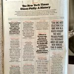 Funny feature in the new issue of @PhiladelphiaMag: a history of the @NYTimes dissing Philly https://t.co/El7UfV32xr