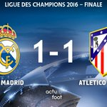 ???? TIRS AU BUT ! Real 1-1 Atlético https://t.co/yJ0Z1QjdaS