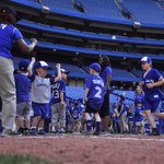 Jr.Jays Saturdays pres. by @bostonpizza dont end when the game does! Kids run the bases like their favourite Jays! https://t.co/qXz06K7a62