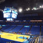 #LoudCity awash in Thunder Blue. About to get MUCH louder! #BringIt #Game6 #ThunderUP https://t.co/pleLH0rfLf