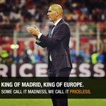 Zidane is crowned in Milan #Priceless #UCLfinal https://t.co/5NmXo3Ar5g