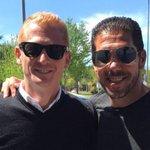 Por segunda vez Simeone pierde la final de la Champions. Le faltó suerte. Dejo por acá esta foto de @libermanmartin https://t.co/HHhuB5ems4
