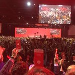 Over 99% support for the new constitution opening up the #LPC #cdnpoli #canpoli #wpg2016 https://t.co/8LN50g4B0J