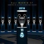 Real Madrid satu satunya tim yg juara UCL SEBELAS KALI!!! https://t.co/tasQj5UrUv