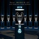 Real Madrid kini juara UCL 11 kali. Terbanyak sepanjang sejarah Congratulations! ???????????????? https://t.co/Th9nF57fCz