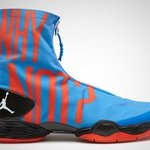 Russ changed into these at halftime. #WhyNot https://t.co/1aaIMKS11G