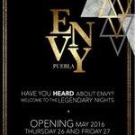 Hoy continúan las noches de Opening en @envy_puebla ... Una forma diferente de divertirte en #Puebla @pollo1381 https://t.co/FvPJX7oueG