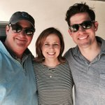 Great weather, great friends. @BBBaumgartner @johnkrasinski #Saturday #Laughter #Playdate https://t.co/zThknNprZe