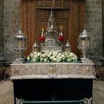 Preparada la Custodia del Corpus en la Catedral de #Valladolid https://t.co/DENiM0tyxc