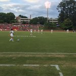 Warriors warming up at the State Championship! 30 minutes left until game time! Go Warriors! https://t.co/I5kvpJe8or