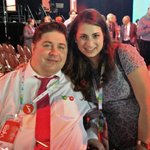Grand day meeting the new Young Libs of Canada president, @Mirasahmad #cdnpoli #wpg2016 https://t.co/pScaeRSUlW