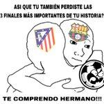 El #AtleticoDeMadrid ha perdido 3 finales de #ChampionsLeague [via #facebook] https://t.co/tmJWW7U1J6