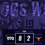YES SIR!!! Mr. Landestoy ends it with a diving catch-double play! Frogs are moving on! #GoFrogs https://t.co/M4G8Otisk4
