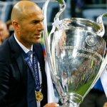 """Zidane : """"Jen avais rêvé. Ce trophée, cest beaucoup de travail. On a fait quelque chose de grand"""" https://t.co/l7HdcKq4bz"""