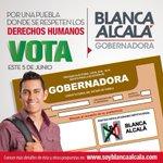 Mi voto es para @soyblancaalcala #BlancaMiGobernadora https://t.co/BpvaJu4xhN