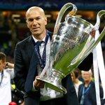 """Zidane : """"Cest le club de ma vie, le club qui ma fait grandir. En faire partie, cest une fierté."""" https://t.co/66sVDCet8K"""