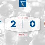 Mid 6: #Dodgers 2, Mets 0 ???????????????? https://t.co/y9H9ScUUkn