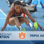 HEADED TO NCAAs! Back-to-back trips to Eugene for Marshay Ryan in the TJ! War Eagle! #NCAATF https://t.co/Zb036mJ3I8