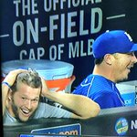 Kershaw reacts to Utley grand slam. https://t.co/ZlB9cG1PlL