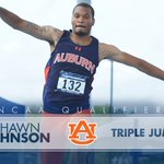 TICKET PUNCHED! Headed back to Eugene in the mens triple jump - Congrats @Crazydrj56 ! War Eagle! #NCAATF https://t.co/SRyE5m3IEK