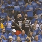 "Pair of Thunder fans wearing ""Draymond Green hates babies"" shirts https://t.co/QaYhECno3v"