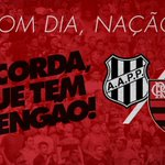 Acorda! Daqui a pouco tem Flamengo! #AvanteMengão #PONxFLA https://t.co/MpRzXGK2sv