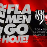 Hoje tem Flamengo! #AvanteMengão #PONxFLA https://t.co/IUdeLZHWVx