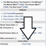 After Chase Utley hit 2 HRs after being thrown at, a fan took to Wikipedia to make a quick edit to @Mets page. https://t.co/mzX3uMOdBa