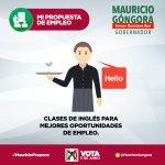#MauricioPropone clases de inglés para que los jóvenes tengas mejores oportunidades de empleo. #YoConMauricio https://t.co/wktNbxeS2u