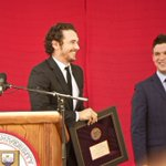 Pursue passions, be generous, @JamesFrancoTV tells senior class https://t.co/deKs1Xl2Ut #Cornell16 https://t.co/35NJnVGtYk