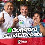 #GongoraGanóElDebate porque el sabe que para gobernar hay que saber trabajar! #SomosQuintanaRoo @MauricioGongora https://t.co/9mmWMqlN4N