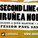 EGUN HANDIA EL GRAN DÍA 12:00tan Jito Alain #IruñeaNola Brass Band #ArrosadiaNola https://t.co/mX82ugeEhL