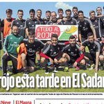Ésta es nuestra imagen de portada hoy en Diario de Navarra en un día tan señalado para Osasuna https://t.co/27CrCOS106