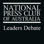 Leaders Debate coin toss at the #NPC at 2pm with Senator Arthur Sinodinos and Senator Katy Gallagher #AusVotes https://t.co/WBOcOnflfE