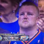 Were still goin cow tippin tho, right? ???? #Thunder #Warriors #Game7 https://t.co/A01aFV4ibl