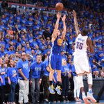 Klay Thompson #NBAPlayoffs career-high 41p 11/18 on 3s - @NBA record for most made 3s in an #NBAPlayoffs game https://t.co/RmDIKNe8cz